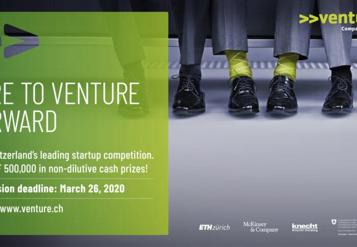 Macht mit beim Venture Startup Wettbewerb!