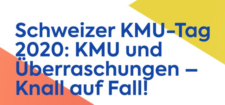 Nico Tschanz am Schweizer KMU Tag 2020: Krisen und was wir daraus lernen können.